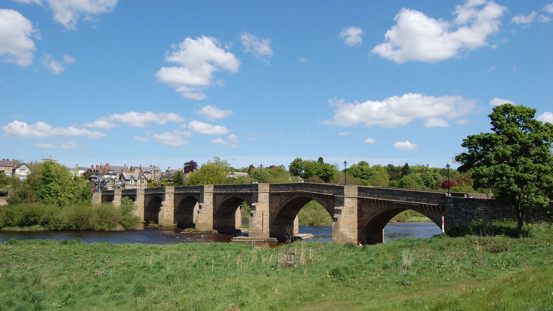 Corbridge Bridge Corbridge Village Tynedale Northumberland