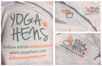 Yoga Hens Branded Uniforms